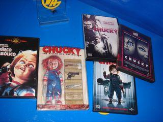 Lote DVDS coleccion Muñeco Diabolico-7 peliculas