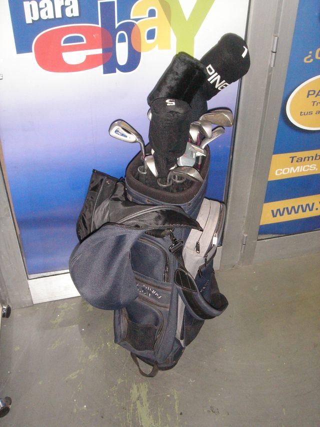 juego de palos de golf 12 unidades marca PING G2