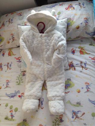 Mono abrigo bebe