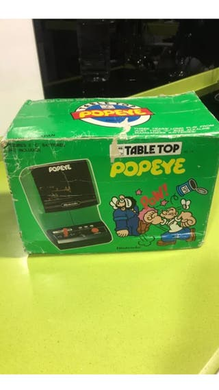 Tabletop game watch popeye,Nintendo,sega,casio,bandai,egb,ness,