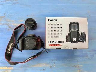 Appareil photo Canon EOS 600D + EF-S 19-55 IS II
