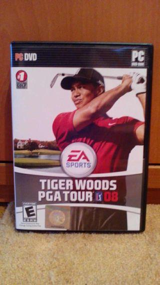 Tiger woods 08 juegazo para PC