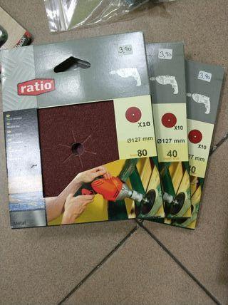 pack lijas marca ratio