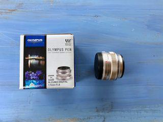 Objectif Olympus 17mm f1.8