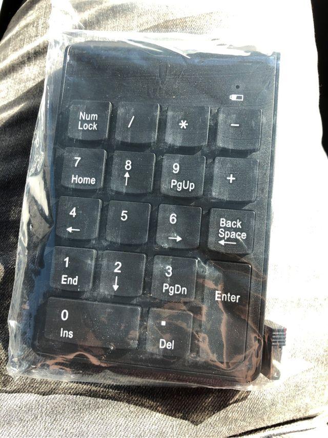 Mini teclado numerico