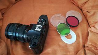 cámara reflex pentax fotos