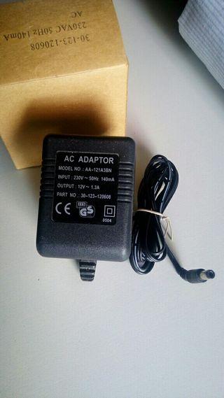 adaptador transformador 12v 1.3a