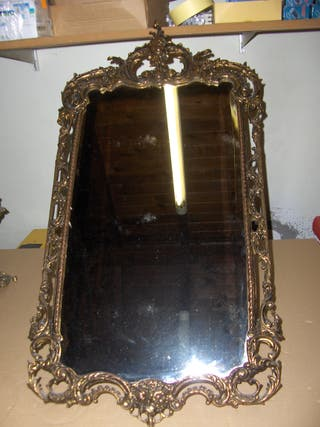 Espejo de latón