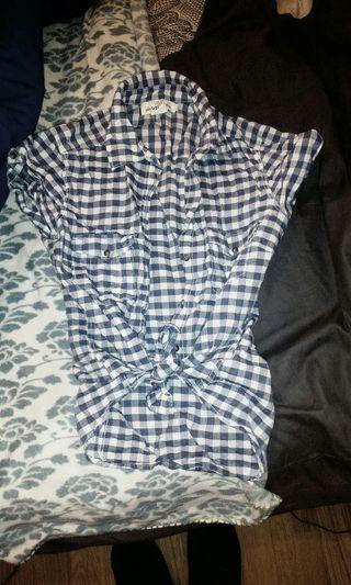 camisa pin up