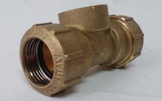 "Racor T hembra 3/4"" ø25mm (6 uds)"