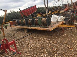 Batea para tractor