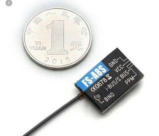 Flysky FS-A8S FS A8S 2.4G 8CH Mini Receptor con Salida PPM i-BUS SBUS