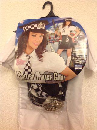 Disfraz policia mujer talla M