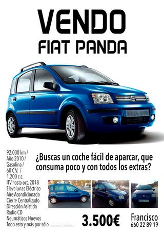 Panda Azul como Nuevo!