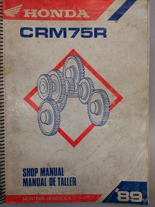 Manual de Taller Honda CRM 75 R CRM75R