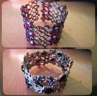Pack de dos pulseras/brazaletes