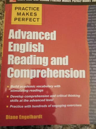 Advanced English Reading and Comprehension.