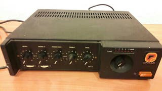 Amplificador OPTIMUS 75W megafonia