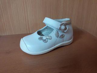 Zapatos piel - bebé/niña