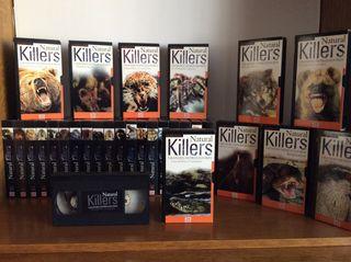 Lote 29 videos ( Cintas VHS) Natural Killers