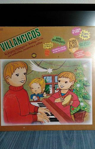 Disco VILLANCICOS EL ÓRGANO HAMMOND