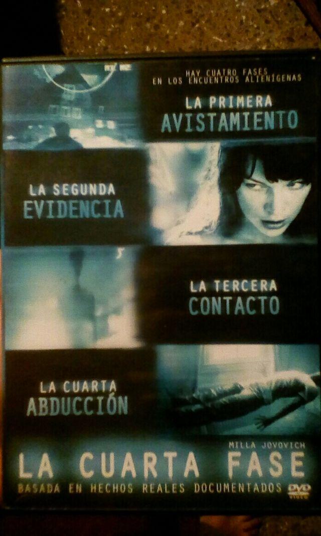 DVD La cuarta fase de segunda mano por 3 € en Fuenlabrada en WALLAPOP