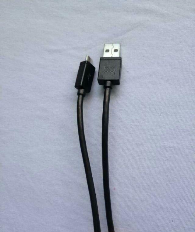 Cable Usb BQ cargador y de conexion