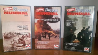 2ª Guerra Mundial (3 videos VHS)
