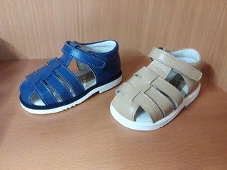 Sandalias piel - bebé/niño