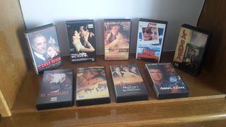 9 Peliculas en formato VHS