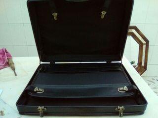 Maleta y maletin piel