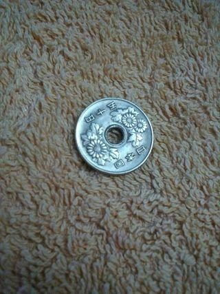 Moneda de 50 Yenes