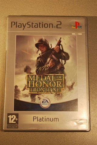Juegos PS2 Medal Of Honor Frontline