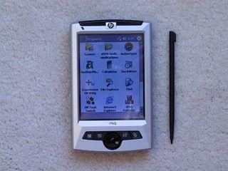 PDA Pocket PC HP iPAQ rz1710
