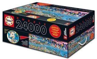 Puzzle 24000 piezas La Vida