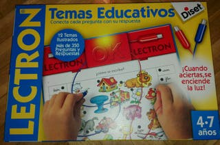 Juego educativo electrónico