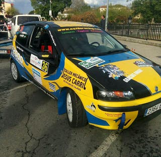 Fiat Punto HGT de Rallye