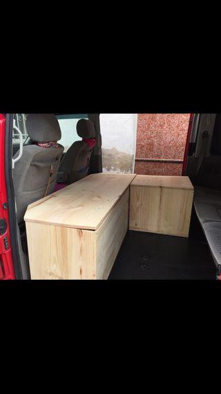 Mueble camper t4