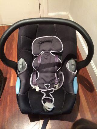 Capazo bebé para coche