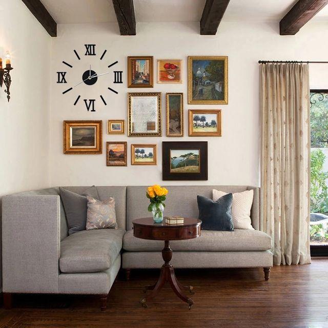 Reloj gigante para pared numeros romanos a estrena de - Reloj gigante pared ...