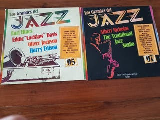 2 Disco vinilo de jazz