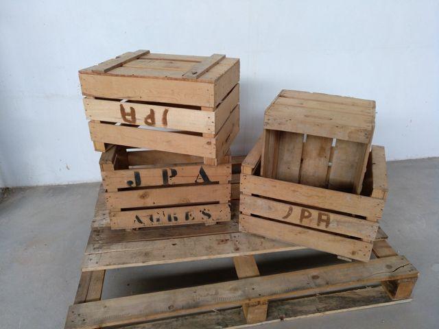 Cajas Fruta Madera De Segunda Mano Por 12 En Alicante En Wallapop - Cajas-fruta