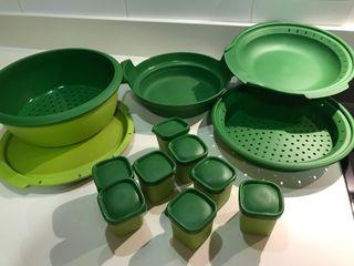 Microvapor Tupperware