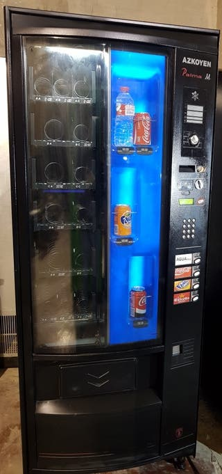 maquina vending azkoyen mixta