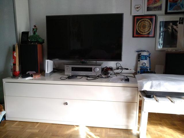 Mueble De Tv De Salón Blanco Ikea De Segunda Mano Por 100 En