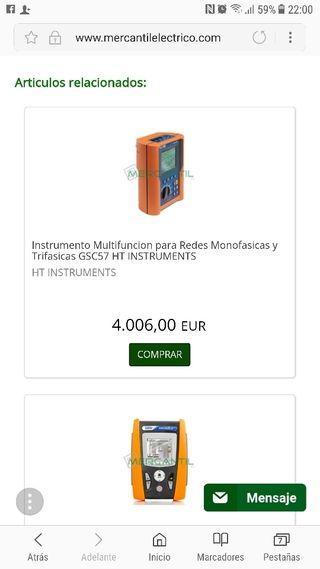 medidor de lineas electrica monofasica y trifsica