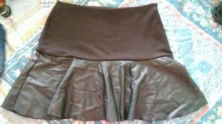 falda inside tela-polipiel