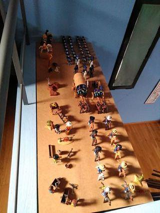 Playmobil soldados union oeste