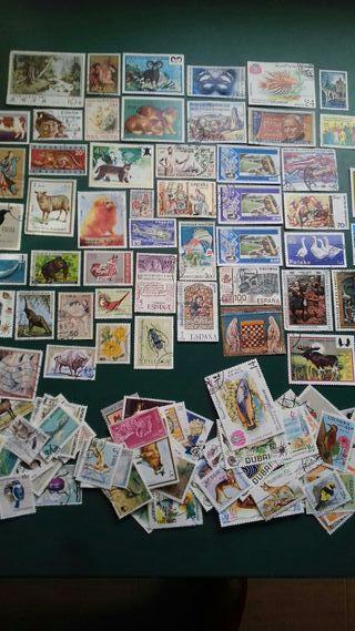 sellos variados preciosos