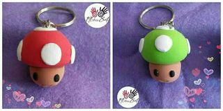 Llavero Seta Mario Bros